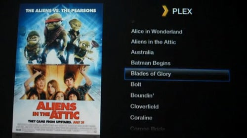 Plex Media Center on Jailbroken AppleTV Looks Delicious