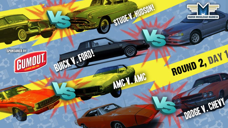 March Muscle Car Madness: Round Two, Day One