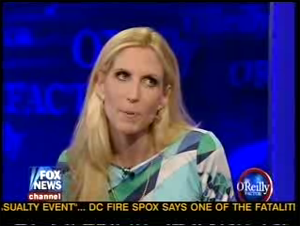 "Coulter Calls Tiller's Murder ""A Termination,"" Makes O'Reilly Look Good"