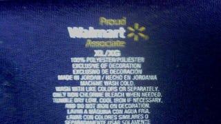Walmart's Uniforms: Made in Jordan