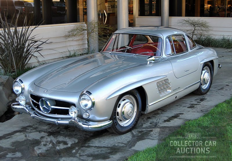 Mercedes-Benz Supercars, Rare 300SL Gullwing Join Roster Of Vehicles Crossing The Block At RK Motors Car Auction