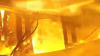 Video: Inside the fiery inferno of a rocket launch