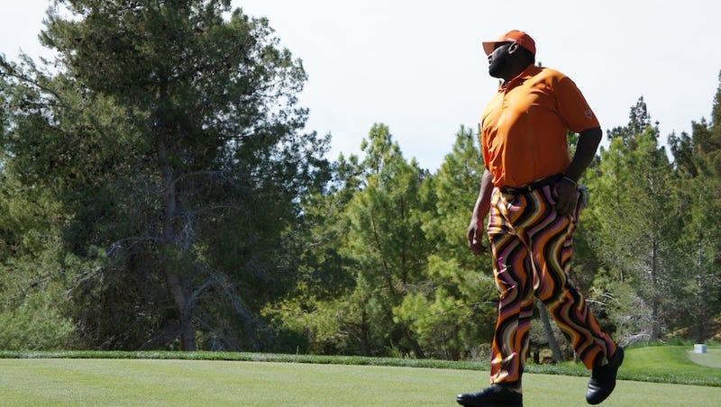 Richard Dent Has Some Amazing Golf Pants