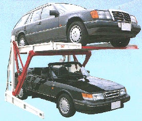 Harding Steel Car Lift: Automobile Elevator For The Home