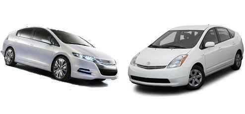 Honda Insight Vs. Toyota Prius: Separated At Birth?