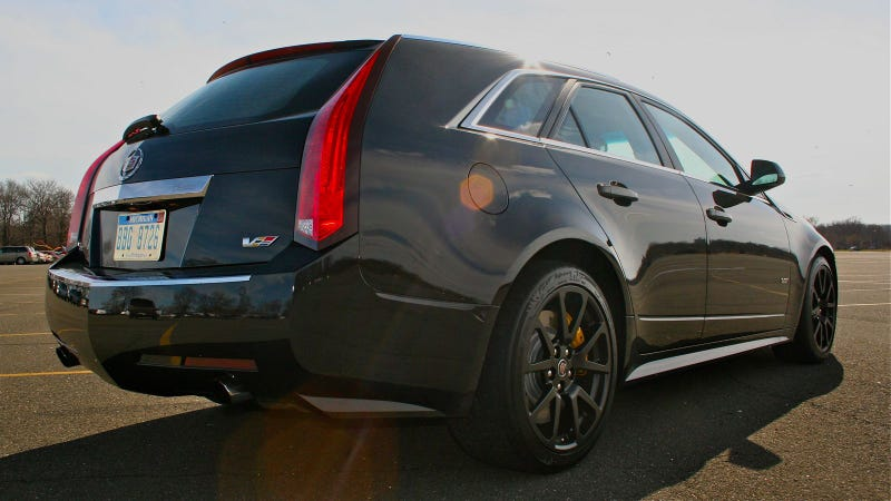 Cadillac CTS-V Sport Wagon: Second Drive