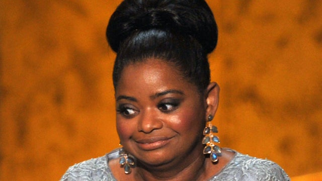 Squished Spleen Alert: Octavia Spencer Wears Three Pairs of Spanx