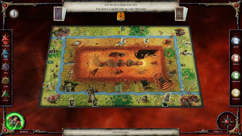 There's a Digital Version of the Talisman Board Game Coming, For Real This Time