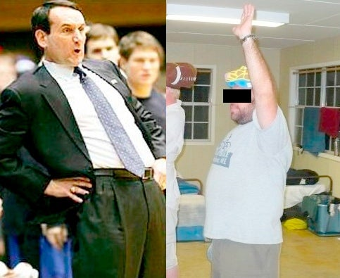 Coach K Has No Sense Of Humor, Part 5,643: A Firsthand Account From A Man Named Bubba