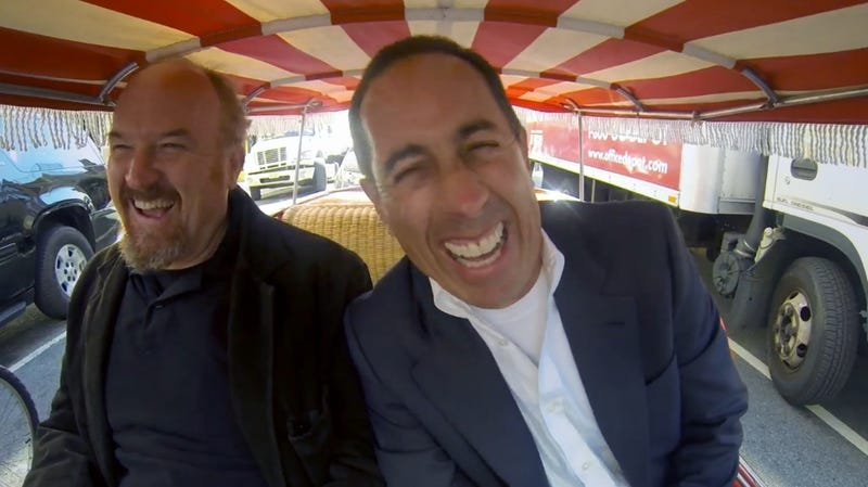 Louis C.K. Tells Jerry Seinfeld All About That Infamous Yacht Incident