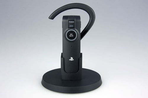 Sony Unveils PS3 Wireless Bluetooth Headset