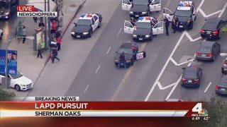 Lengthy L.A. Police Chase Brought To End By Random Dude On The Street