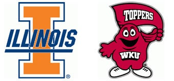 NCAA First Round: (5) Illinois vs. (12) Western Kentucky