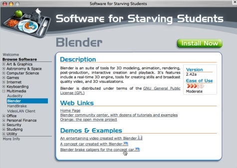 Download of the Day: Software for Starving Students (Win/Mac)