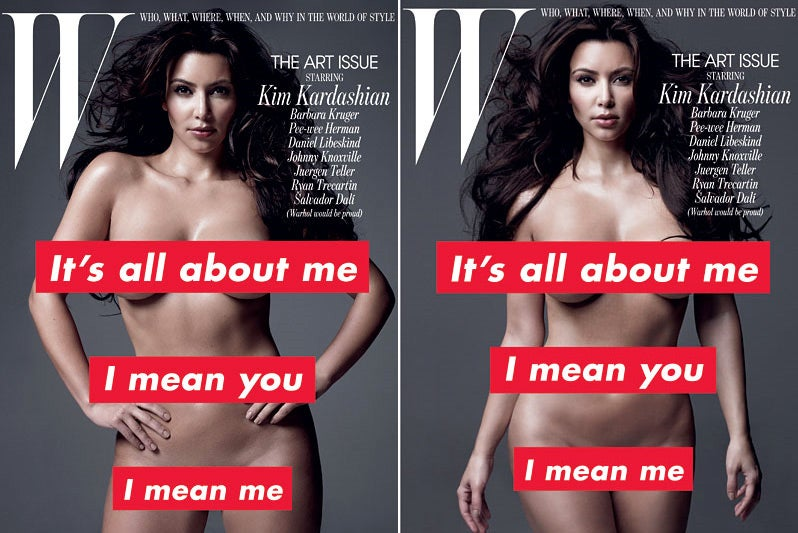 Thank You, W Magazine, for Bringing Us Kim Kardashian in the Nude