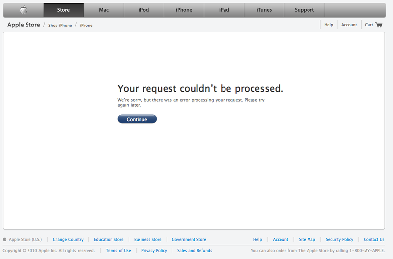 Apple iPhone 4 Pre-Ordering Is a Total Disaster