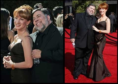 Woz and Kathy Griffin Exhibit Courting Rituals on Emmy Red Carpet