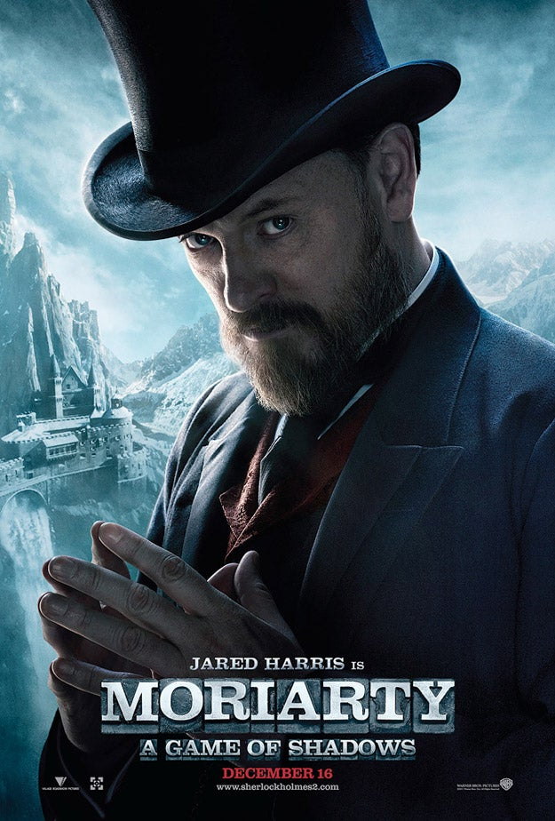 Sherlock Holmes 2 More Character Posters Gallery