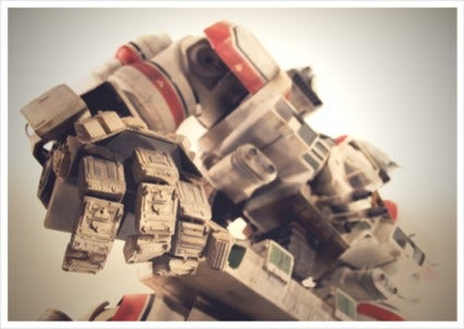 A Beautiful Mech Commemorates the Greatest Robot Movie of All Time