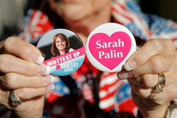 "Palin Dudes: ""Proud To Be Voting For The Hot Chick"""