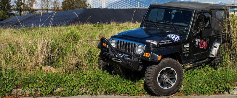 This VW-powered Jeep Wrangler TDI was inspired by a Fisher-Price toy