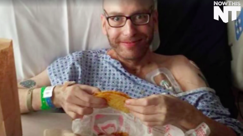 Man Asks for Taco Bell After Waking from Coma