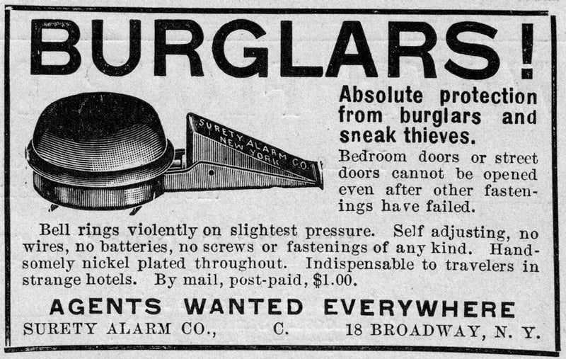 This Simple Door Alarm From 1906 Is Actually Pretty Genius