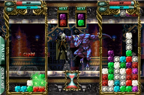 Castlevania Puzzle: Encore Of The Night Review: Alucard's Puzzle Quest