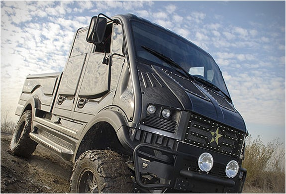 The Bremach T-Rex is an electric beast