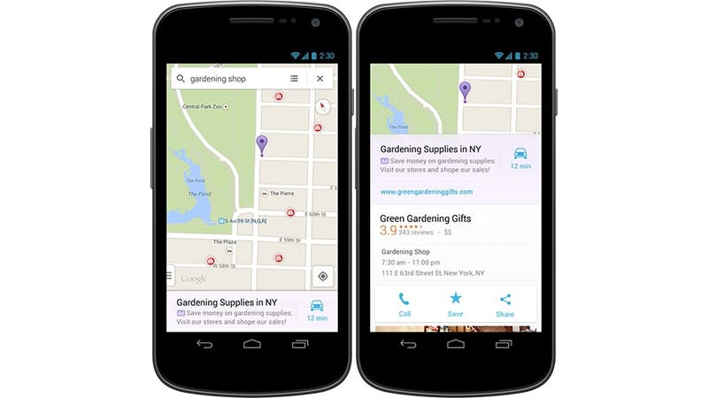 Google Maps Mobile Apps Will Now Be Polluted With Ads (Sad Face)