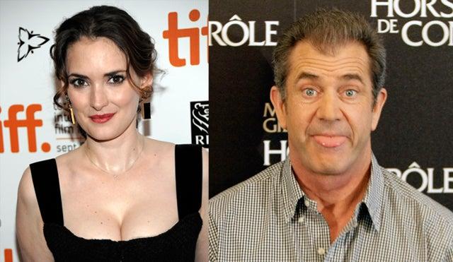 """Winona Ryder, Mel Gibson & The """"Oven Dodger"""" Joke"""