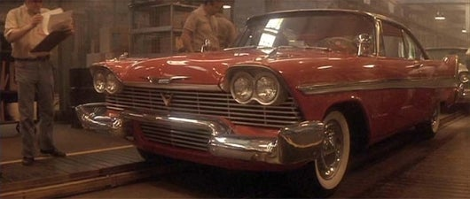 The Eight Best Scary Movie Cars