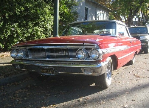 1964 Ford Galaxie 500 Convertible Down On The Alameda Street