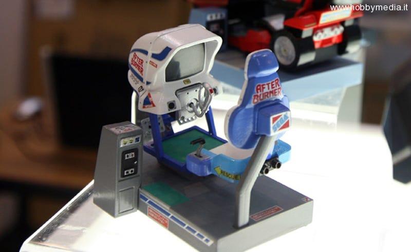 This Is That Secret Tiny Sega Arcade Cabinet