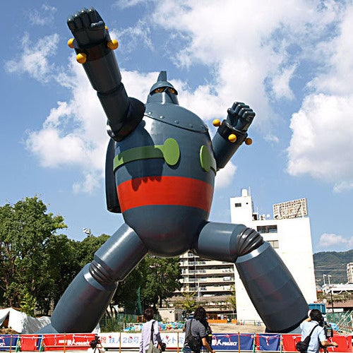 Giant Robot Statue Looms Over Japan