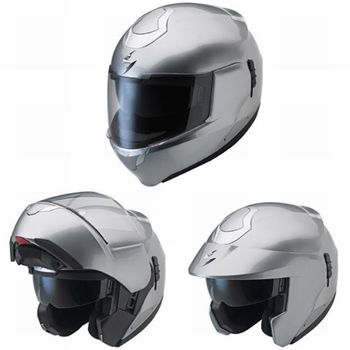 Transforming Motorcycle Helmet Makes You Feel Like Rick Hunter