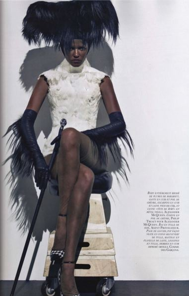 Oh No They Didn't: French Vogue Does Blackface