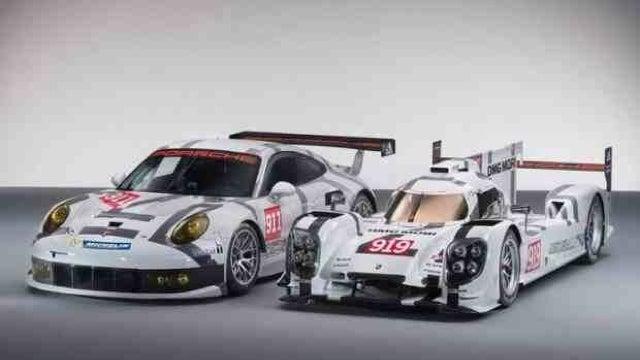 This Is Porsche's 919 Prototype In Full Le Mans Race Trim