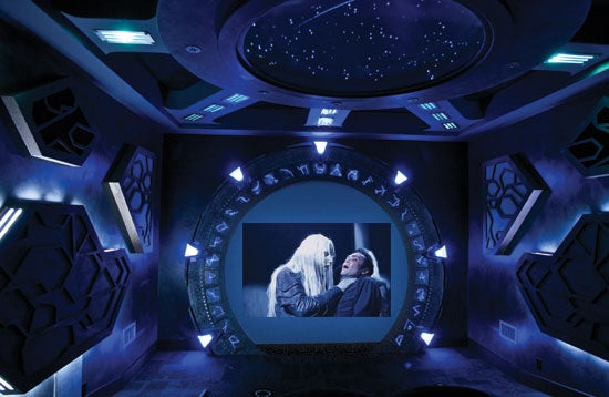 Someone Actually Built a $70k Stargate Atlantis Home Theater