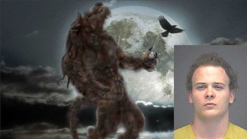 Ohio Police Capture Drunken Local Werewolf