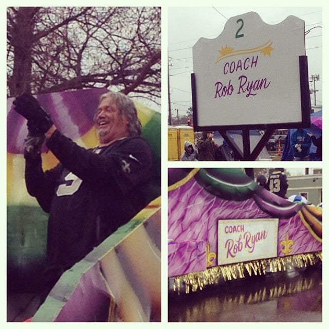Rob Ryan Had A Hell Of A Time During Mardi Gras Celebrations