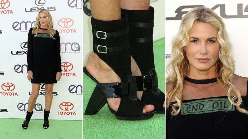 Only Daryl Hannah Truly Understands Green-Carpet Fashion
