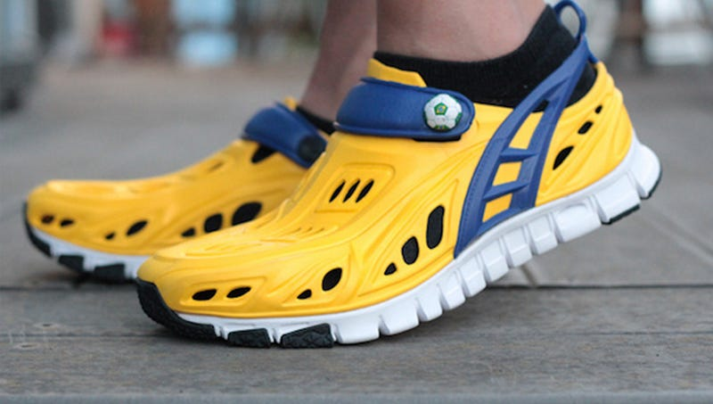 Hideous Sneaker Made of Holes Latest Travesty from Crocs