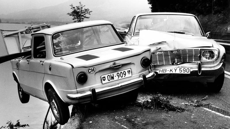 The Hyper-Aesthetic Car Crash Photos Of Arnold Odermatt