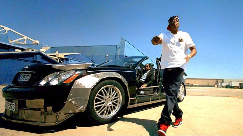 Jay-Z And Kanye's Modified Maybach Sells For Just $60,000