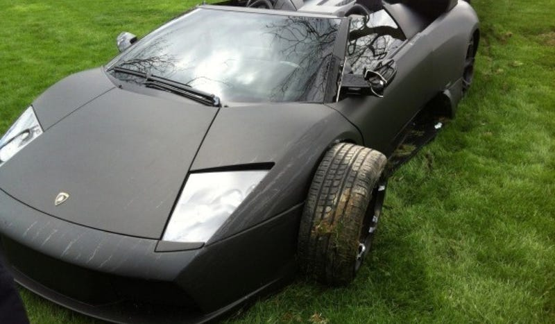 Lambo Converted To Rear-Wheel Drive Shows Driver It's Still The Boss