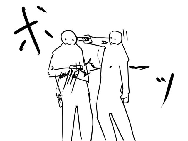 Guns and Close Combat Explained with Simple Drawings