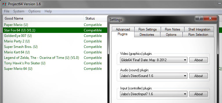plugins do project64 1.6
