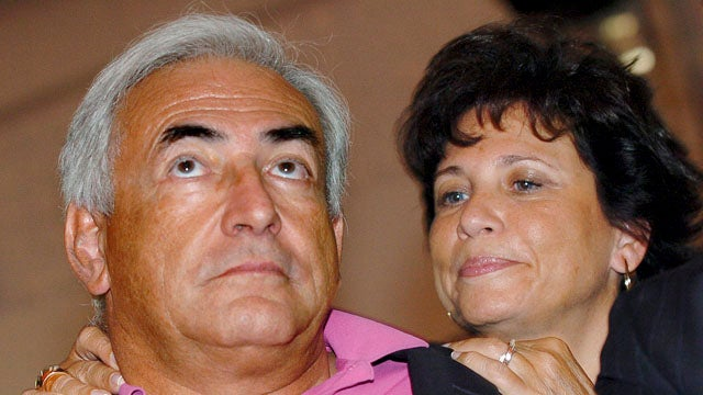 Dominique Strauss-Kahn's Wife Stops Standing By Her Man