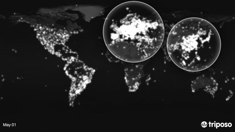 Watch Where a Year of Photos Were Taken Around the World